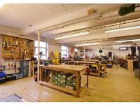 LIGHT INDUSTRIAL/STUDIOS/STORAGE/WORKSHOP FOR RENT in Nottingham NG3