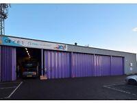 LIGHT INDUSTRIAL/STUDIOS/STORAGE/WORKSHOP FOR RENT in Livingston EH54
