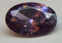 Aaa Ca. 1,19 Ct 7,00x5,00 Mm Ovale Cz / Phurplish Rosso 13/ Cz / Aaa -  - ebay.it