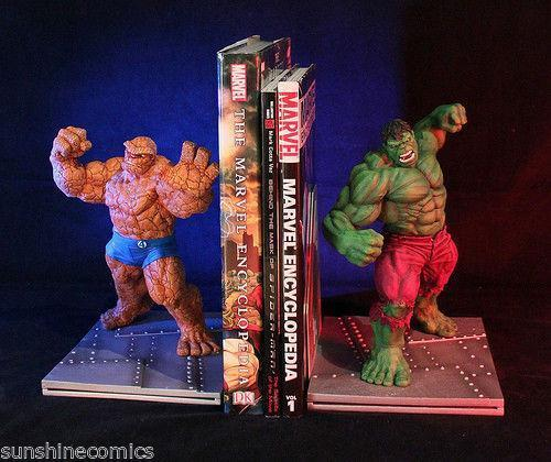 Image Gallery Marvel Bookends