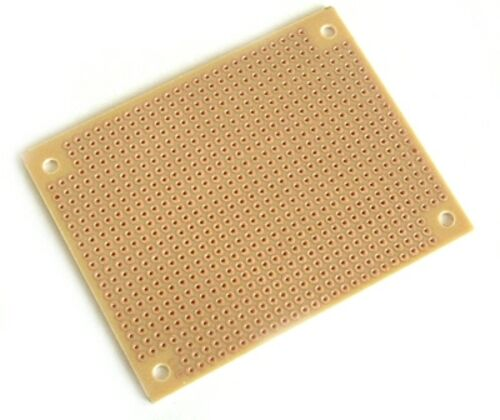 "Solderable Perf-Board 2 1/2x3 1/8"" Copper Pad Circuit 5"