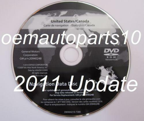 GM Navigation Disc 2012