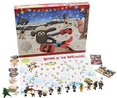 Advent Calendar For Kids (Shaun the Sheep Kids Advent Calendar Wallace and Gromit Christmas Calendars)