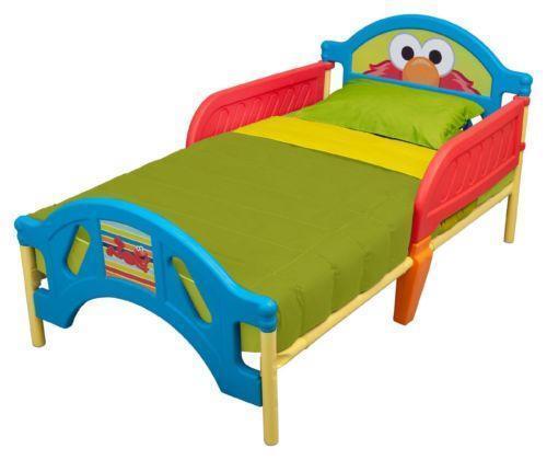 Elmo Toddler Bed Set Ebay