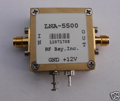 New 50-3000MHz Flat Low Power Amplifier LPA-3-24 SMA