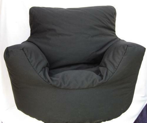 bean bag arm chair ebay. Black Bedroom Furniture Sets. Home Design Ideas