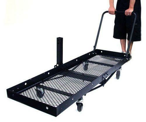 Folding Hitch Cargo Carrier Ebay