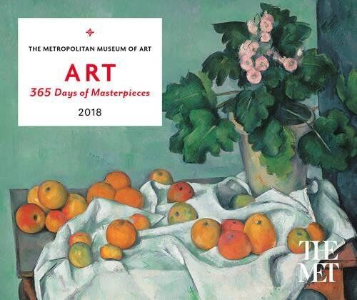 Купить ART: 365 Days of Masterpieces 2018  by The Metropolitan Museum of Art [Calendar]