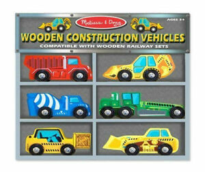 Melissa and Doug Construction Vehicles Toys