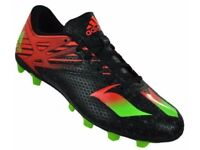 MEN'S ADIDAS LIMITED EDITION 'LEO MESSI' FOOTBALL BOOTS - SIZE 10.5 UK - BRAND NEW - £25 ONO