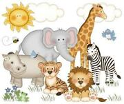 Animal Print Wall Stickers
