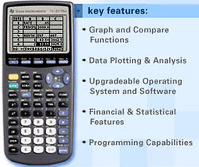 texas instruments ti-83 plus g... Image 3
