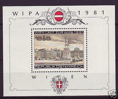 Österreich Block   5  **  WIPA 1981