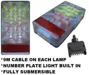 LED Trailer Lights with Cable