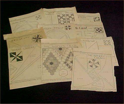 Kansas City Star Quilt Patterns Ebay