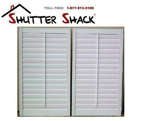 Interior plantation shutters ebay - Plantation shutters kits ...