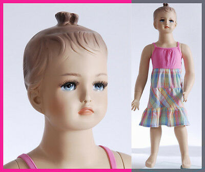 Child Mannequin Hand Made Manikin Abt 1 Year Old Fiberglass Baby Girl - Cat