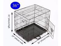 "Easipet dog, puppy crate, cage, 36"", medium"