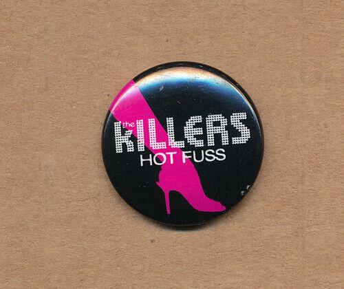 the Killers Hot Fuss RARE promo button 2004