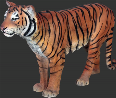 Animal sculpture life size