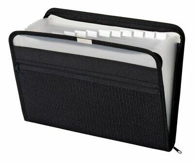 Pendaflex Globe-Weis 13 Pocket Accordion Zip Fabric File Organizer - Letter covid 19 (Globe Weis Fabric coronavirus)