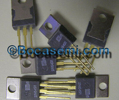 2n6491 Si Npn Power Bipolar Transistor 80 V 15 A Mfr Solid State Pnp To-220