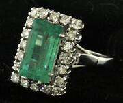 Vintage Gold Emerald Ring