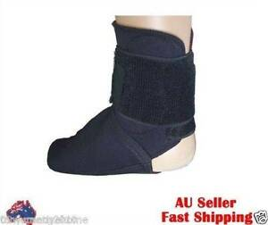 1005 Black hermal Foot Support Brace pain relif Gym sports protec West Ballina Ballina Area Preview