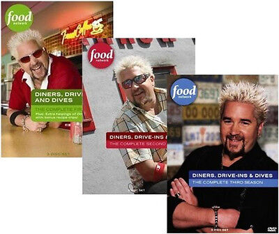 Diners  Drive Ins And Dives Complete Seasons 1 2 3 4 Dvd   Brand New