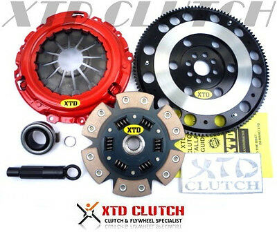 XTD STAGE 3 CLUTCH  RACE FLYWHEEL KIT ACURA RSX ALL  CIVIC 20L K20 K24 jdm
