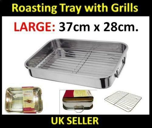 Stainless Steel Roasting Tray Ebay