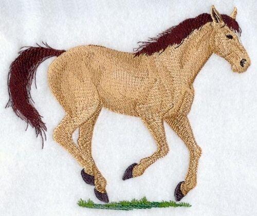 Embroidered Fleece Jacket - Quarter Horse A9062 Sizes S - XXL