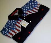 American Flag T-shirt Men