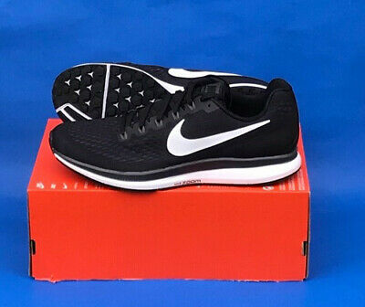 Air Zoom Running Shoe - MENS NIKE AIR ZOOM PEGASUS 34 RUNNING SHOES / SIZE 11 / BLACK-WHITE