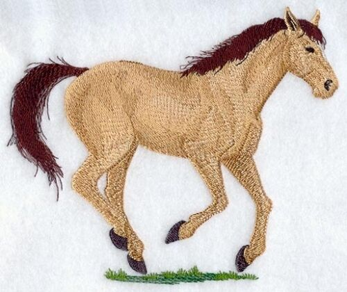 Embroidered Ladies Fleece Jacket - Quarter Horse A9062 Sizes S - XXL