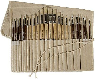 Art Advantage Oil and Acrylic Brush Set, 24-Piece, Free Shipping, New on Rummage
