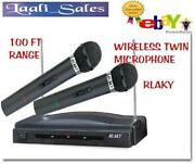 Twin Wireless Microphone