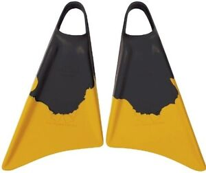 NEW CHURCHILL MAKAPUU SWIM FINS BODYBOARD FINS BLACK SIZE MEDIUM LARGE