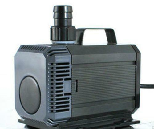 Pond pumps solar submersible air and external ebay for Submersible pond pump and filter