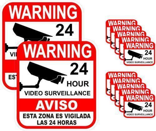 Video Surveillance Sign Ebay