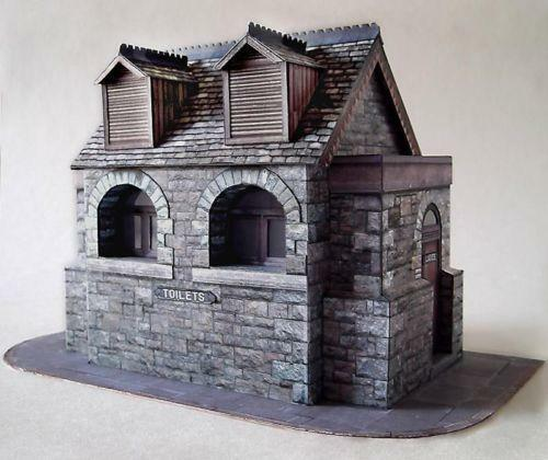 Accessories O Gauge Buildings : O gauge buildings ebay
