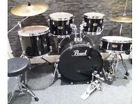 Pearl Forum 5pc Drum Kit. Excellent Condition.