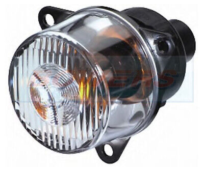 HELLA 2BA008221007 ROUND FRONT 55mm CLEAR FRONT INDICATOR LIGHT LAMP