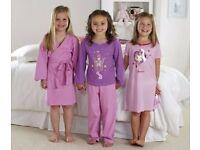 **3 PACK* GIRLS NIGHTWEAR SET NEW 9-10 YEARS with Nightie,Pyjamas and Robe**
