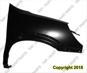 Fender Front Passenger Side With Antenna Hole CAPA Buick Rendezvous 2006-2007