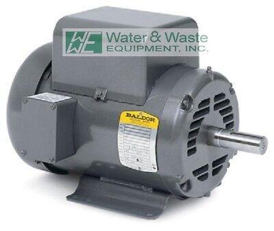 5 HP, 1725 RPM NEW BALDOR AIR COMPRESSOR ELECTRIC MOTOR FR# L1430T