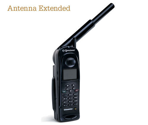Globalstar Qualcomm 1600 Satellite Phone  with HEADSET MOD - NEW FACEPLATE/KEYBD