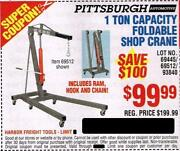 Harbor Freight Lift