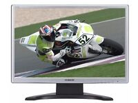 HannsG HW223D 22 Inch Widescreen 4ms Black/Silver TFT Monitor