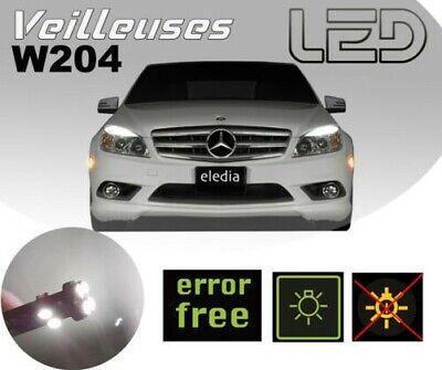 Mercedes Klasse C W204 4 Led-Lampen Nachtlichter Positionslichter 180 200 220